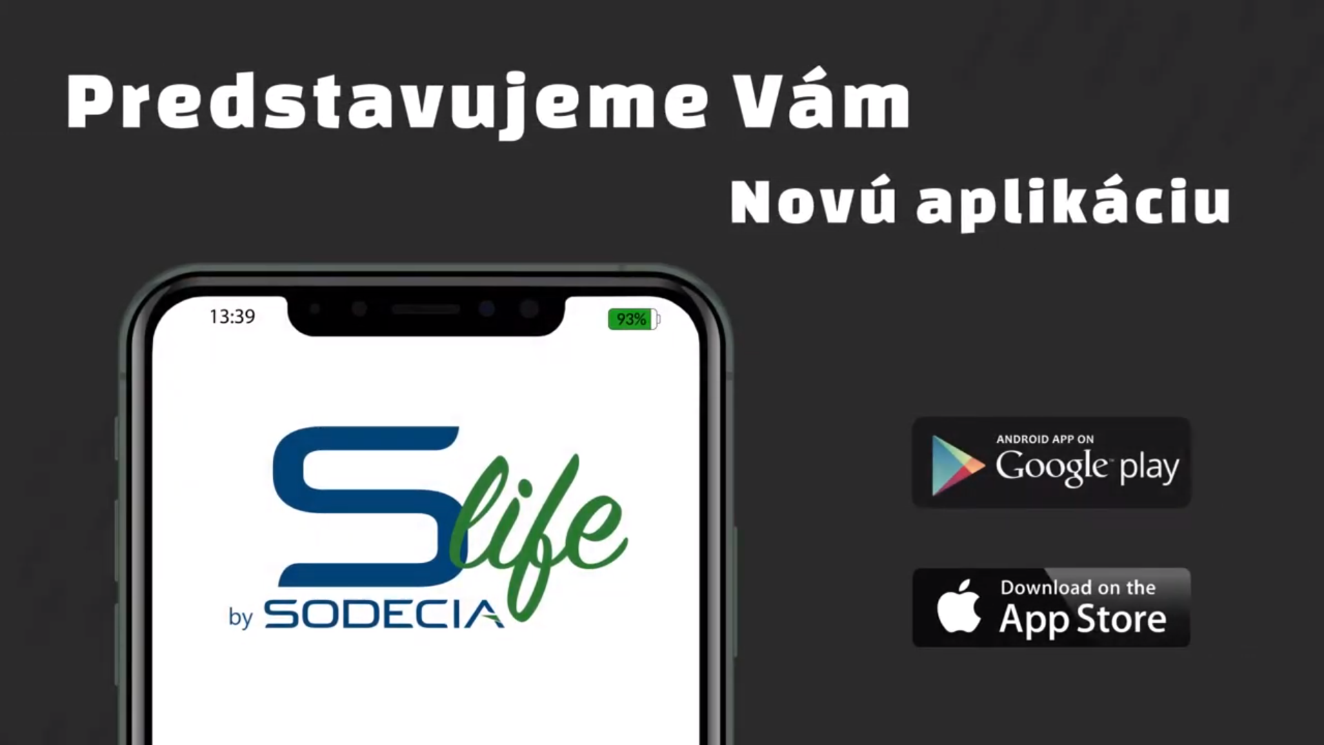 slife aplikácie video screenshot