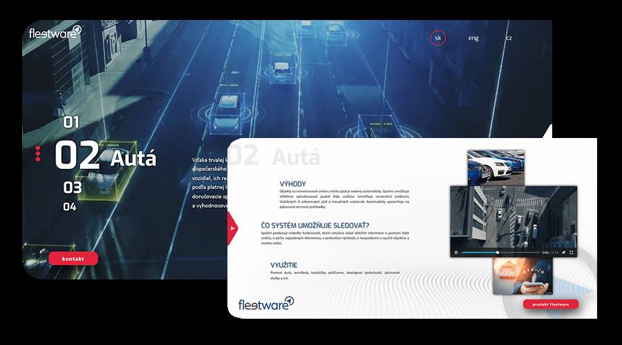 web dizajn fleetware