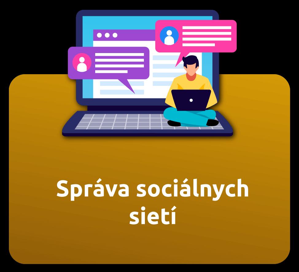 sociálne siete správa