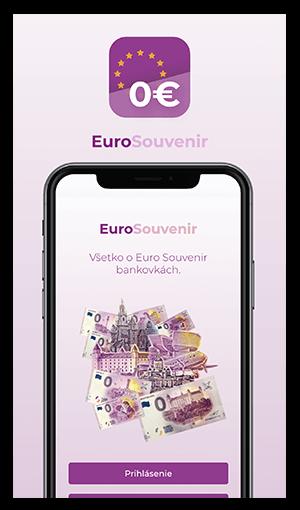 eurosouvenir mobilne aplikacie