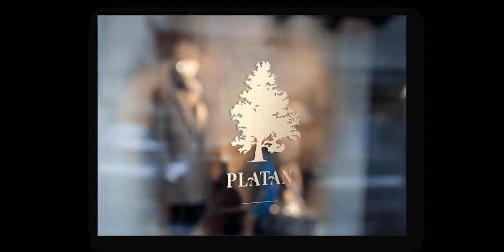 platan logo dizajn tvorba loga