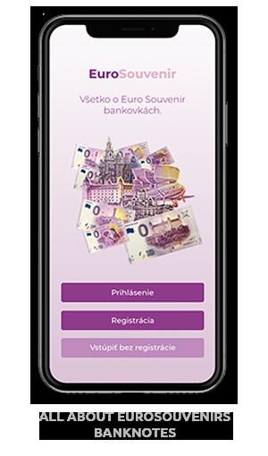mobilná aplikácia EuroSouvenir