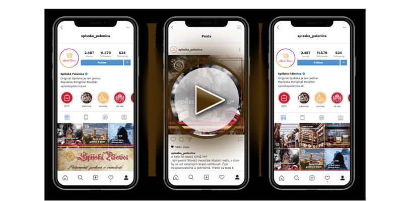 Video ukážka screenshot mobilná aplikácia