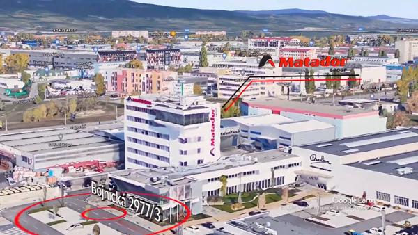 verteco video screenshot mapa