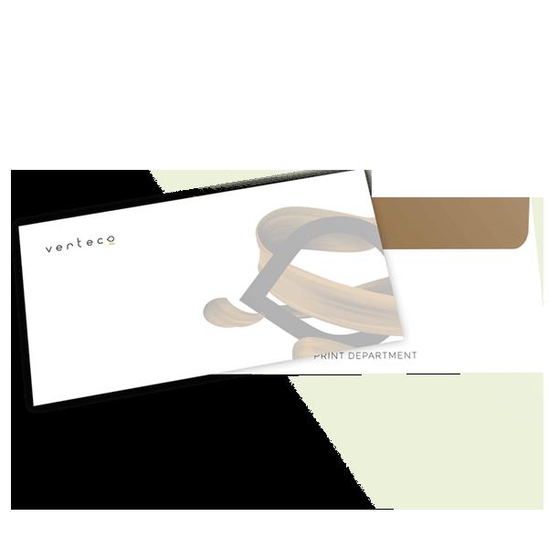 verteco printová tlač obálky