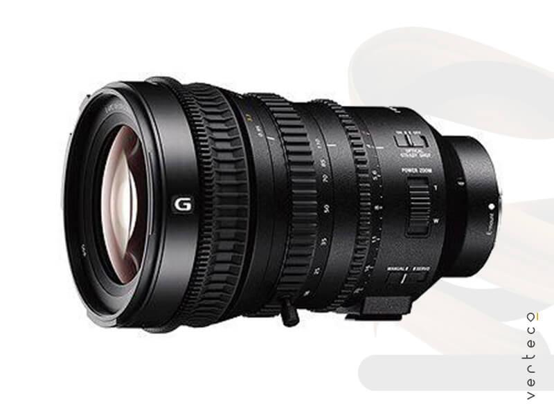 Sony objektív video Verteco