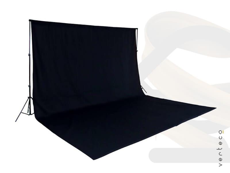 Čierne pozadie video Verteco