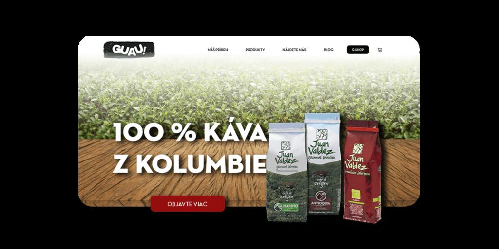 web Guau eshop web dizajn